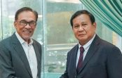 Prabowo Subianto Bertemu Anwar Ibrahim