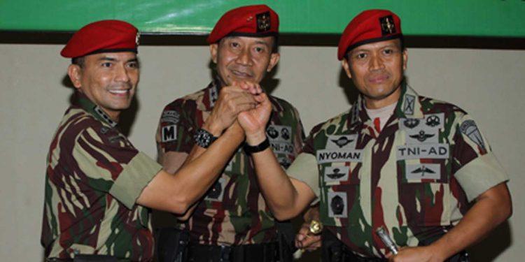 Mutasi TNI, Mayjen I Nyoman Cantiasa Jabat Danjen Kopassus