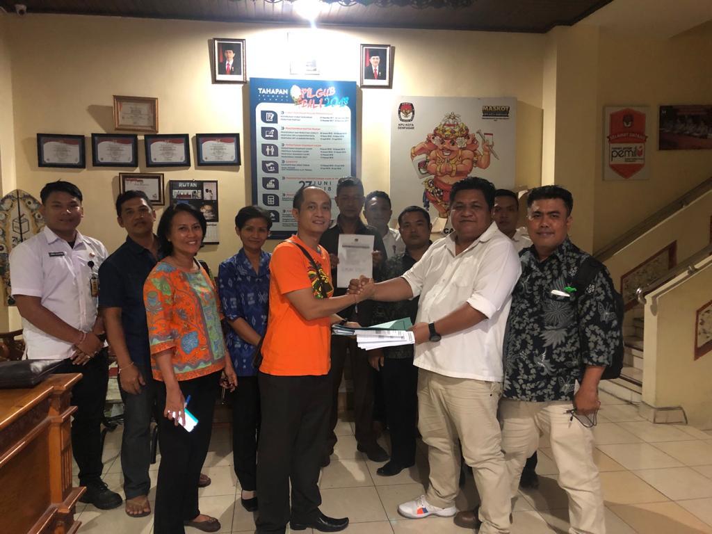 14 Parpol Peserta Pemilu 2019, Laporkan LPSDK ke KPU Kota Denpasar