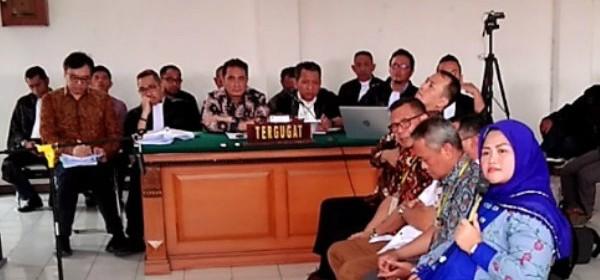 Sidang Meikarta, Neneng Sebut Uang Suap Ke Pemrov Jabar Diduga Melalui Ketua Fraksi PDIP