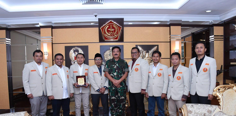 Bahas Persatuan dan Kebangsaan, Pemuda Muhammadiyah Silaturahmi ke Panglima TNI