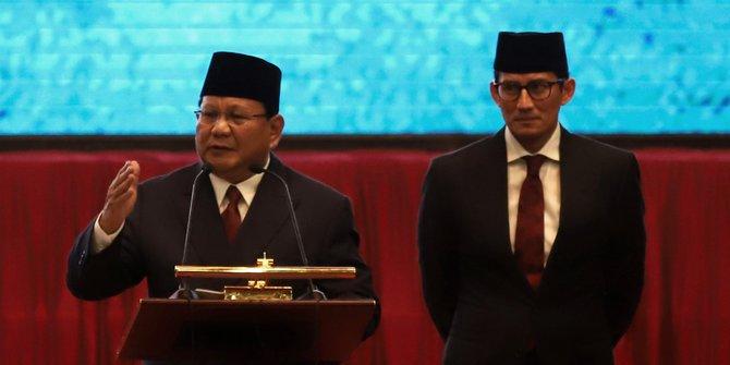 Gabung ke Pemerintahan, 68 Juta Pemilih Prabowo-Sandi Gigit Jari