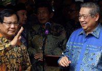 Pilpres 2019, SBY Sebut Atmosfer Kemenangan Ada di Prabowo-Sandi