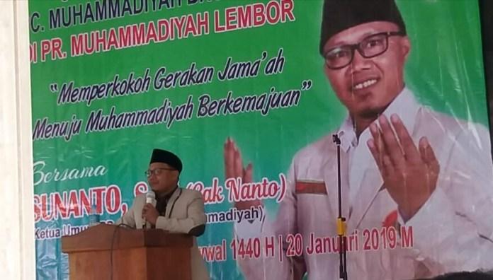 Dituding Titipan Istana Sebagai Ketum Pemuda Muhammadiyah, Begini Jawaban Sunanto