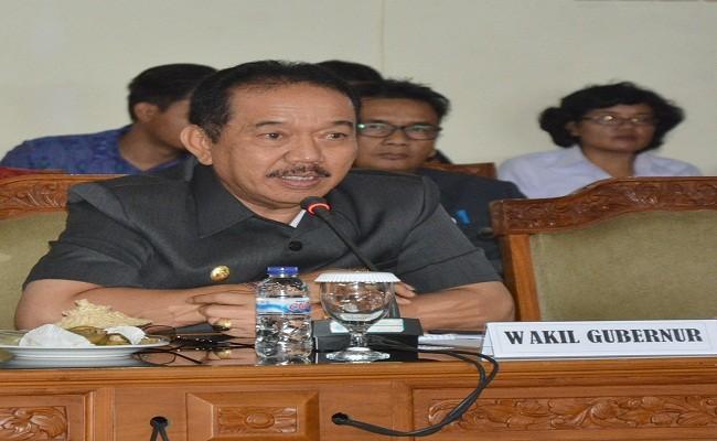 Wagub Bali Imbau Masyarakat Waspadai Longsor