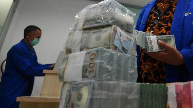Pemerintah Bayar Utang, Cadangan Devisi RI pada Januari Turun US$600 Juta