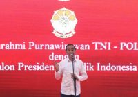Begini Kata Jokowi, Didukung Ratusan Jenderal Purnawirawan TNI – Polri