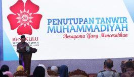 Wakil Presiden Jusuf Kalla tutup tanwir Muhammadiyah Bengkulu