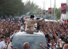 Di Bengkulu, Prabowo Dapat Sumbangan Lagi dari Masyarakat