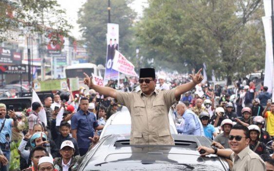 Guncang Cianjur, Prabowo Cium Aroma Kemenangan Rakyat