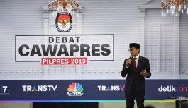 Debat Pilpres Ketiga, Begini Penutup Menyejukkan Sandiaga Uno