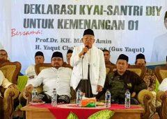 Pilpres 2019, Ma'ruf Amin Ingin Menang Selisih 30 Persen dari Prabowo-Sandiaga