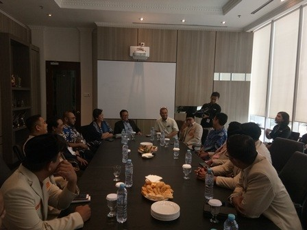 Silaturahmi Bersama Media Group, Ketum Pemuda Muhammadiyah : Ciptakan Wirausaha Baru