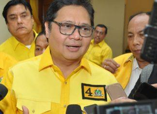 Partai Golkar Satu Suara Usung Airlangga Hartarto Capres