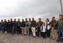 Divisi Hukum KPU se Bali Touring ke Destinasi Wisata Jati Luwih
