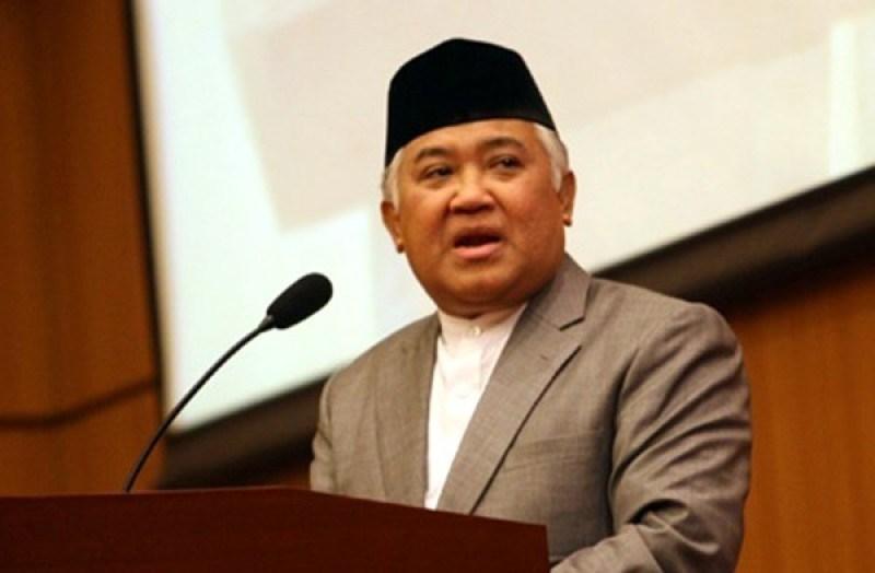 Din Syamsuddin Sampaikan 7 Hal Terkait Penusukan Wiranto