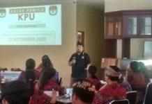 Jaring Pemilih Pemula, KPU Denpasar Sosialisasi Pilkada 2020 ke Sekolah
