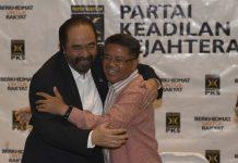 Bertemu PKS, Surya Paloh: Pemerintah Tanpa Kritik Tidak Akan Sehat