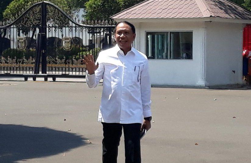 Merapat ke Istana, Zainudin Amali Penuhi Panggilan Jokowi