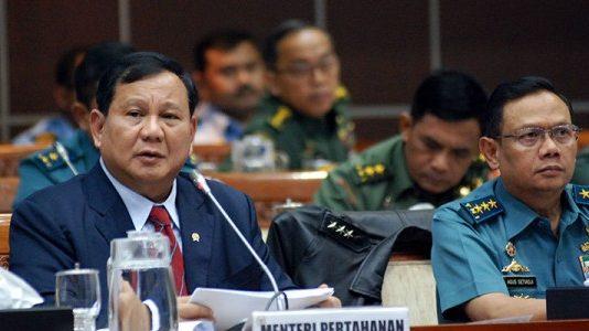 Raker Menhan Prabowo Sempat Gaduh, Wartawan Dipersilahkan Keluar dari Ruang Komisi I