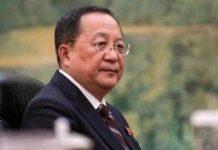 Dubes Untuk China Pulang, Menteri Luar Negeri Korut Diganti