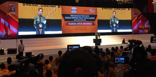 Tolak Tawaran Jokowi Jadi Wantimpres, OSO: Saya Punya Tugas Di Hanura