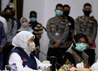 Surabaya, Gresik dan Sidoarjo Putuskan Ajukan PSBB