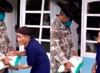 Viral Nenek Tolak Bantuan Beras, Minta Disumbangkan ke Orang Membutuhkan