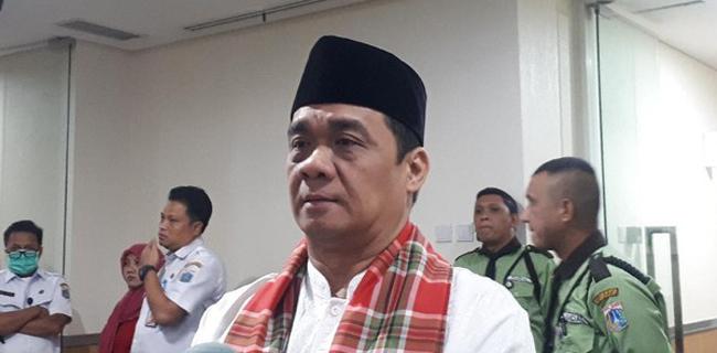 Wagub Jakarta Riza Patria Tegaskan Lagi Jakarta Sudah Zona Hijau