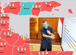 Empat Warganya Positif Covid-19 , Sumenep Zona Merah Baru Yang Masuk Klaster Pelatihan Haji