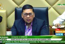 Sah, DPR dan Pemerintah Sepakat Pilkada Serentak Digelar 9 Desember 2020