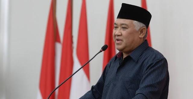 Din Syamsuddin Minta Buzzer Pemfitnah Ustadz Adi Hidayat Dijebloskan ke Penjara