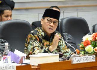 Korupsi Bansos, Ketua Komisi VIII DPR RI Yandri Susanto Dijadwalkan Dipanggil KPK