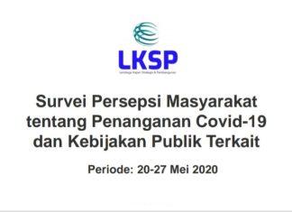 Survei LKSP Sebut Muhammadiyah Dan PKS Dinilai Lebih Peduli Saat Pandemi