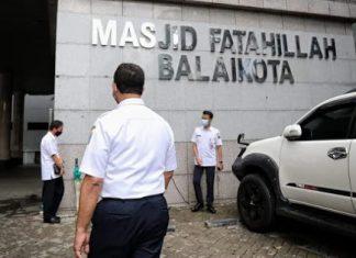 Masjid Fatahillah Balaikota DKI Kembali Gelar Jumatan Hari Ini