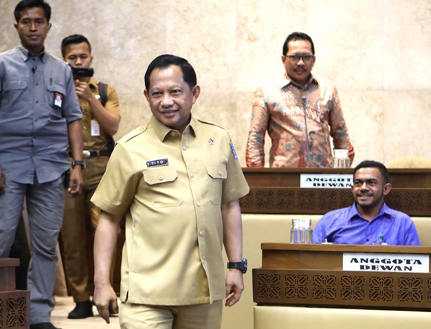 Jokowi Ancam Reshuffle, Tito Sebut Jabatan Itu Amanah Dari Allah