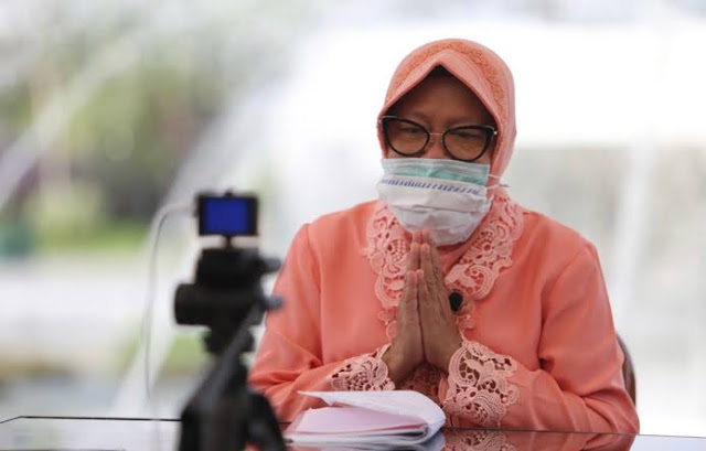 Risma Pamit Sebagai Walikota, Ini Pesannya untuk Warga Surabaya