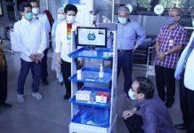 Robot Raisa Buatan Mahasiswa Indonesia Siap Rawat Pasien Covid 19
