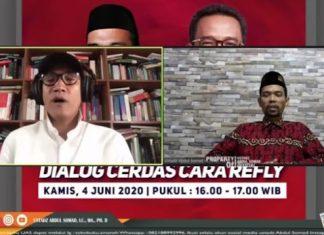 Diskusi Virtual, Ustaz Abdul Somad Mengaku Harus Bayar Mahal karena Dukung Prabowo