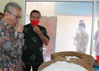 "Kunjungi Pengolahan ""Uyah Kusamba"", Dirjen PDSPKP Apresiasi Langkah Bupati Suwirta"
