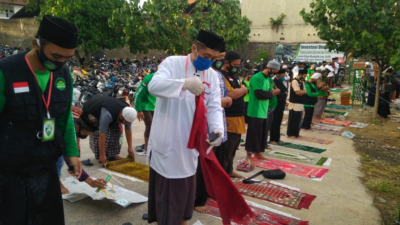 Musholla Baitul Mu'minin Gelar Shalat Idul Adha Dengan Protokol Kesehatan Secara Ketat