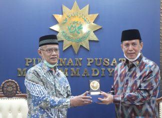 Ketum Muhammadiyah Terima Silaturahim Kepala BNPT