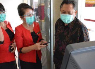 Walikota Denpasae Apresiasi ATM Tanpa Kartu LPD Kesiman