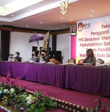 Jelang Coklit, KPU Denpasar Bimtek Pemutakhiran Data Pemilih Pilkada 2020