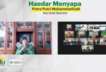 Hari Anak Nasional, Haedar Sapa Putra Putri Muhammadiyah dari Berbagai Pelosok Indonesia