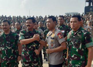 Hasil Survei: Masyarakat Puas Dengan Kinerja TNI-Polri Dalam Penanganan Covid-19