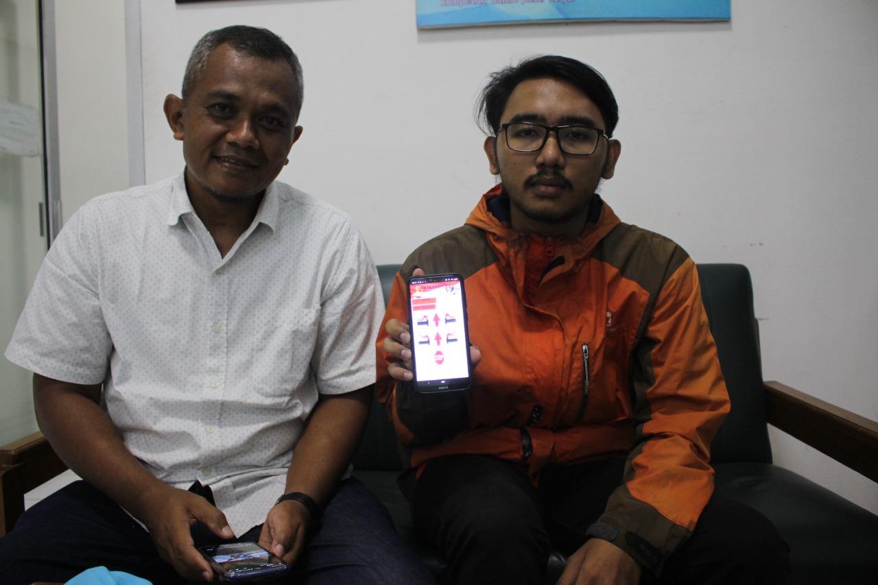 Mahasiswa Muhammadiyah Solo Ciptakan Inovasi, Jalankan Traktor Sawah dengan Smartphone