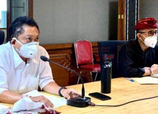 Walikota Denpasar Minta Semua Anggota GTPP Fokus Penanganan Covid-19