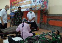 28 Prajurit Kodam Udayana Ikuti Donor Plasma Konvalesen Pasca Sembuh Dari Covid-19
