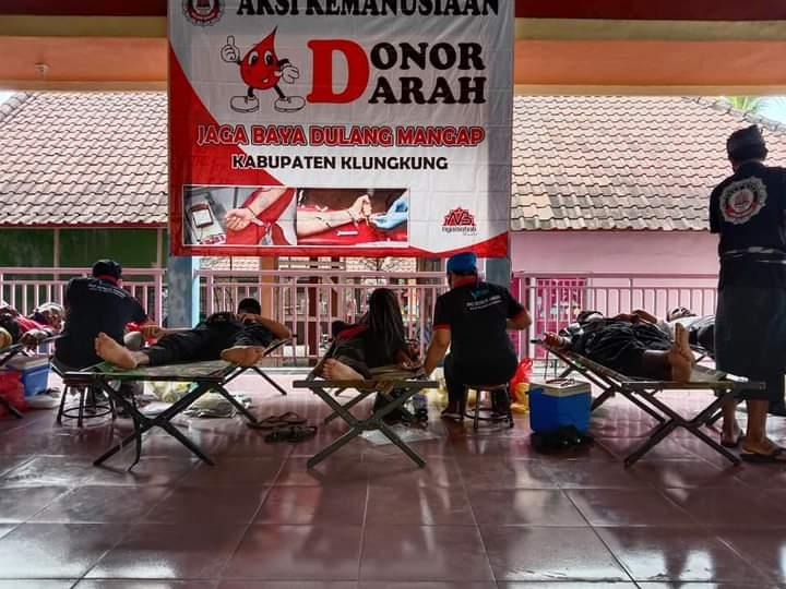 Cegah Krisis Stok Darah Saat Pandemi, Jagabaya Dulang Mangap Gelar Donor Darah Secara Simultan